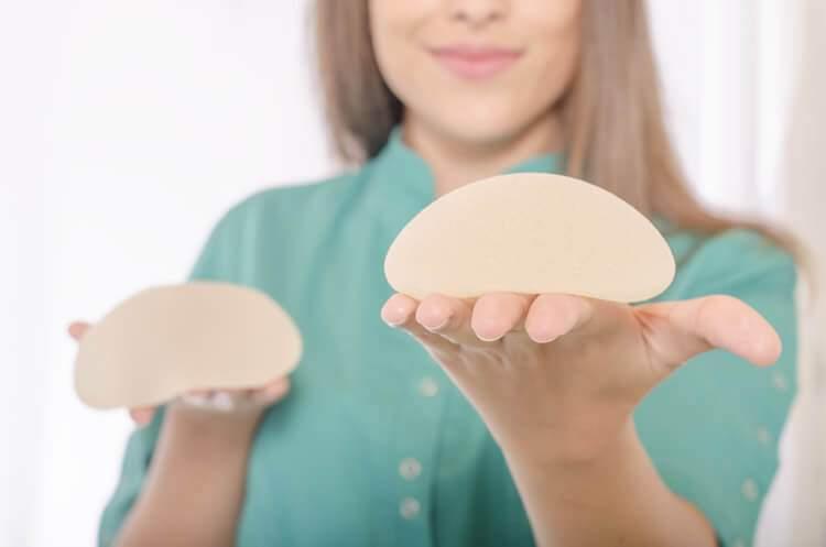 tipos de protese de silicone preços