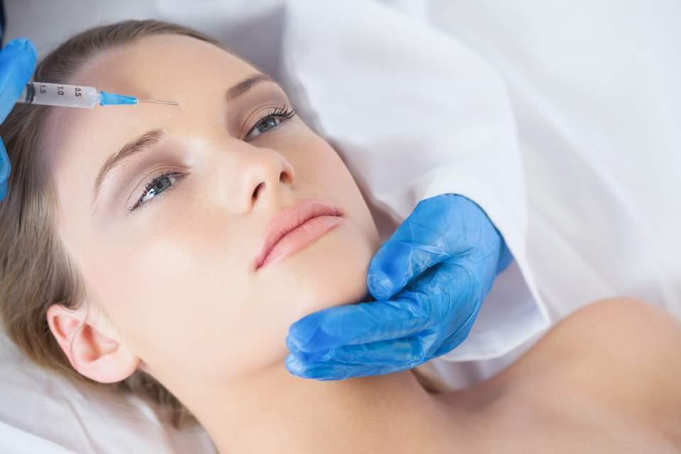 antes de fazer aplicação da toxina no rosto floripa